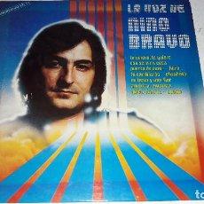 Discos de vinilo: NINO BRAVO - LA VOZ DE NINO BRAVO BUEN ESTADO. Lote 101224223
