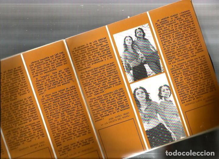 Discos de vinilo: DOBLE SINGLE PROMOCIONAL : LAS GRECAS : GIPSY ROCK ( DOBLE CUBIERTA, DOS DISCOS DE VINILO) - Foto 4 - 101228195