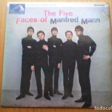 Discos de vinilo: RARO LP 1964 THE FIVE FACES OF MANFRED MAN , BIEN ,VER ESTADO Y CANCIONES EN MAS FOTOS, . Lote 101228311