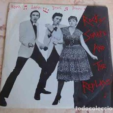 Disques de vinyle: ROCKY SHARPE AND THE REPLAYS – RAMA LAMA DING DONG - SINGLE 1979. Lote 101234087