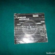 Discos de vinilo: LINEAS AEREAS. DISCOS PARA DESAYUNAR, EP, 83. FLOR Y NATA RECORDS. Lote 101234987