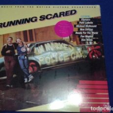 Discos de vinilo: RUNNING SCARED 1986 DE MGM - MUSIC FROM THE MOTION PICTURE SOUNDTRACK PRECINTADO. Lote 101255855