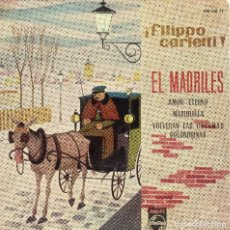 Discos de vinilo: FILIPPO CARLETTI EP 1960 - (ENVÍO MÁXIMO POR PAQUETE ES 10 €). Lote 101271471