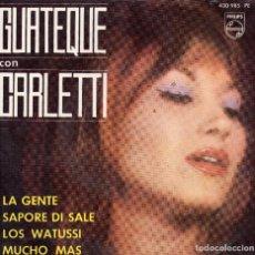 Discos de vinilo: GUATEQUE CON FILIPPO CARLETTI EP 1964- (ENVÍO MÁXIMO POR PAQUETE ES 10 €). Lote 101271671