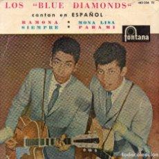 Discos de vinilo: BLUE DIAMONS EP 1961- (ENVÍO MÁXIMO POR PAQUETE ES 10 €). Lote 101272663