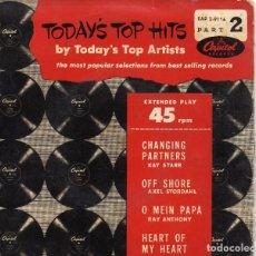 Discos de vinilo: KAY STARR -AXEL STORDAHL-RAY ANTHONY-JERRY SHARD EP- (ENVÍO MÁXIMO POR PAQUETE ES 10 €). Lote 101272855