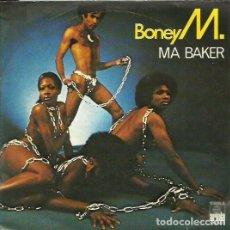 Discos de vinilo: BONEY M.. SINGLE . SELLO ARIOLA. EDITADO EN ESPAÑA. AÑO 1977. Lote 101279959