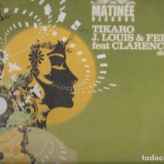 Discos de vinilo: TIKARO J. LOUIS & FERRAN FT. CLARENCE SHINE ON ME 5 TRACK CD SINGLE 4A. Lote 101280323