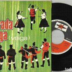 Discos de vinilo: ALBORADA GALLEGA EP VEIGA.1969. Lote 101282127