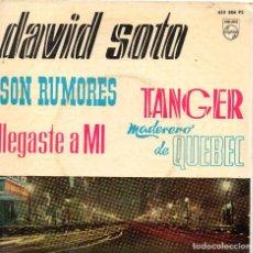 Discos de vinilo: DAVID SOTO EP 1961 SON RUMORES- (ENVÍO MÁXIMO POR PAQUETE ES 10 €) . Lote 101285247