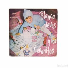 Discos de vinilo: EP. BLANCANIEVES Y LOS SIETE ENANITOS. TEATRO INVISIBLE DE RADIO NACIONAL DE ESPAÑA. (VG+/VG+). Lote 101286307