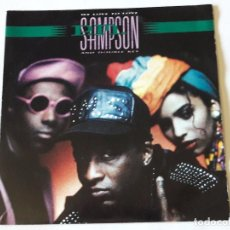 Discos de vinilo: P.M. SAMPSON & DOUBLE KEY - WE LOVE TO LOVE - 1990 - SINGLE. Lote 101292015