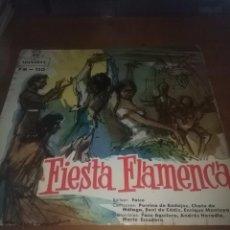 Discos de vinilo: FIESTA FLAMENCA. BULERIAS. ALEGRIAS. AL AFERIA DE GRANÁ. SEVILLANAS. SOLEARES... C9V. Lote 101305559