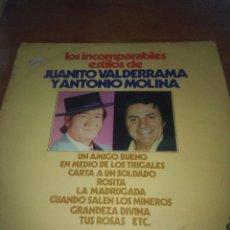 Discos de vinilo: LOS INCOMPARABLES ESTILOS DE JUANITO VALDERRAMA Y ANTONIO MOLINA. C9V. Lote 101306279