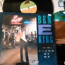 Discos de vinilo: BEN E. KING MAXI STAND BY ME.INGLATERRA 1987. Lote 101310031