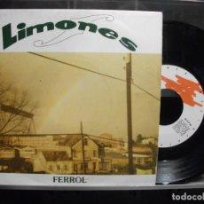 Discos de vinilo: SINGLE-LOS LIMONES-EL FERROL-1992 NUEVO¡¡. Lote 218639525