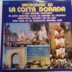 Discos de vinilo: VACACIONES EN LA COSTA DORADA - 1973 GRAMUSIC GM - 221. Lote 101323103