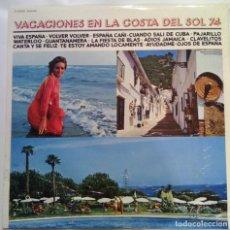 Discos de vinilo: VACACIONES EN LA COSTA DEL SOL 74 - 1974 CBS S 53534. Lote 101323247