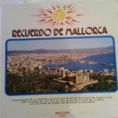 Discos de vinilo: RECUERDO DE MALLORCA - 1971 BELTER 75.009. Lote 101323451