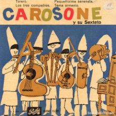 Discos de vinilo: RENATO CAROSONE Y SU SEXTETO EP 1958- (ENVÍO MÁXIMO POR PAQUETE ES 10 €) . Lote 101323703