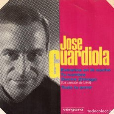 Discos de vinilo: JOSÉ GUARDIOLA EP 1966- (ENVÍO MÁXIMO POR PAQUETE ES 10 €) . Lote 101323859