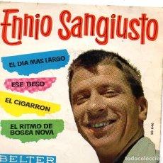 Discos de vinilo: ENNIO SANGIUSTO EP 1963- (ENVÍO MÁXIMO POR PAQUETE ES 10 €) . Lote 101324071