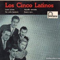 Discos de vinilo: LOS CINCO LATINOS EP- 1958- (ENVÍO MÁXIMO POR PAQUETE ES 10 €) . Lote 101324175