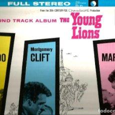 Discos de vinilo: LP BANDA SONORA : THE YOUNG LIONS ( HUGO FRIEDHOFER & LIONEL NEWMAN ) MARLON BRANDO / DEAN MARTIN . Lote 101329011