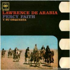 Discos de vinilo: PERCY FAITH Y SU ORQUESTA – LAWRENCE DE ARABIA - EP SPAIN 1963 - CBS AGS 20.074. Lote 101334863