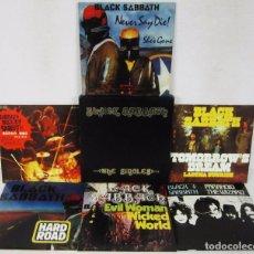 Discos de vinilo: BLACK SABBATH - THE SINGLES 1970 1978 - BOX 6 VINILOS 2004 EDICION LIMITADA 50 / 500 NUEVO / MINT. Lote 101353719