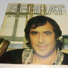 Discos de vinilo: JOAN MANUEL SERRAT- LP EN TRANSITO- ENCARTE CON LETRAS- ARIOLA 1981 3. Lote 101373156