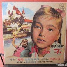 Discos de vinilo: MARISOL UN RAYO DE LUZ LP HECHO EN KOREA ( CARA A MARISOL / CARA B SINATRA A MI MANERA Y OTROS CANT. Lote 101376199