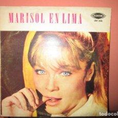 Discos de vinilo: MARISOL EN LIMA LP MUY DIFICIL DE PERU ( MARISOL CANTA CONGRATULATIONS EN INGLES , ESPAÑOL ). Lote 101376527
