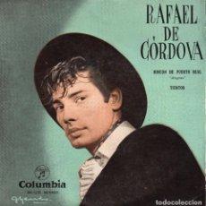 Discos de vinilo: RAFAEL DE CORDOVA, EP, RINCÓN DE PUERTO REAL + 1, AÑO 1959. Lote 101384963