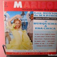 Discos de vinilo: MARISOL CANCIONES LOS NOVIOS DE MARISOL Ò BUSQUEME A ESA CHICA LP EDICION DE FLORIDA. Lote 101393595