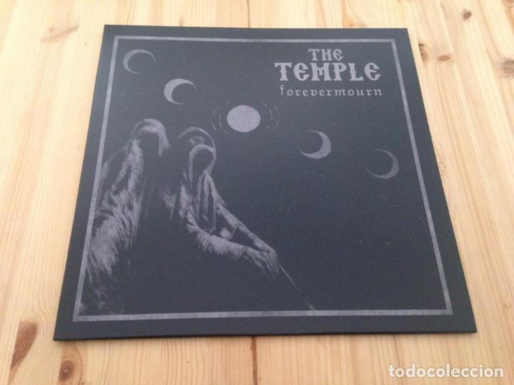 THE TEMPLE -- FOREVERMOURN-DOOM METAL BLACK METAL (Música - Discos - LP Vinilo - Heavy - Metal)