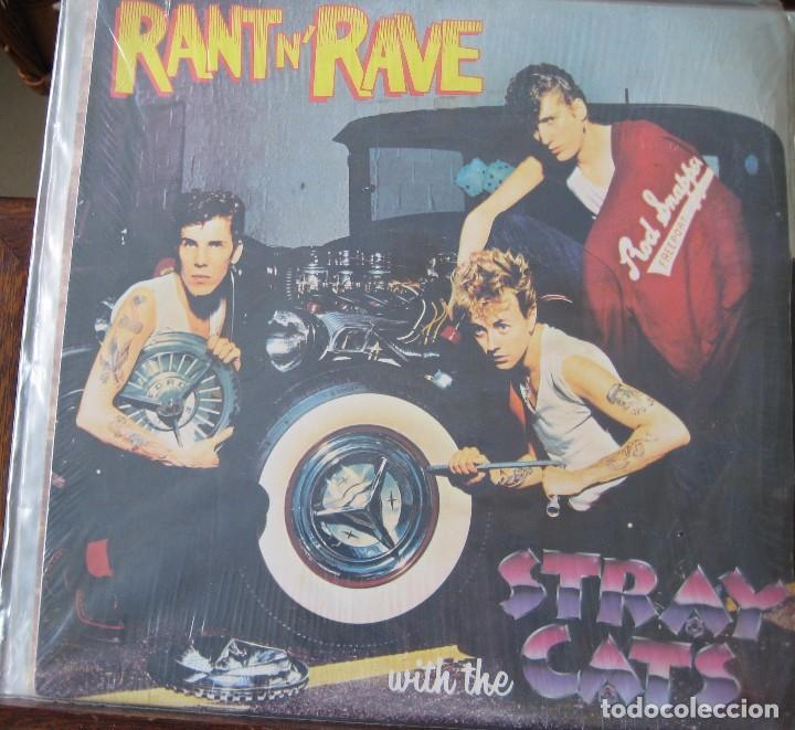 STRAY CATS - RANT´RAVE (Música - Discos de Vinilo - EPs - Rock & Roll)