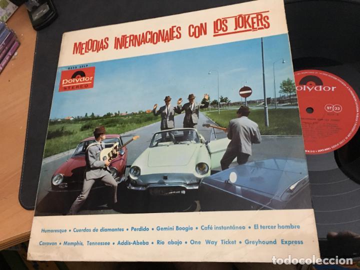 LOS JOKERS (MELODIAS INTERNACIONALES) LP 1966 ESPAÑA (VIN-V) (Música - Discos - LP Vinilo - Grupos Españoles 50 y 60)
