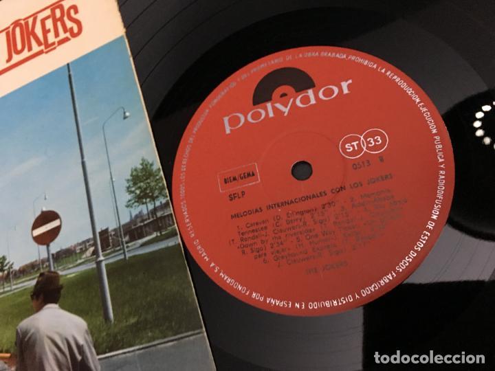 Discos de vinilo: LOS JOKERS (MELODIAS INTERNACIONALES) LP 1966 ESPAÑA (VIN-V) - Foto 2 - 111094712
