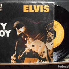 Discos de vinilo: ELVIS PRESLEY MY BOY + 1 SINGLE SPAIN 1975 PDELUXE. Lote 101402187