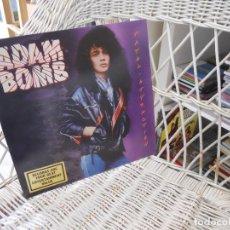 Discos de vinilo: ADAM BOMB– FATAL ATTRACTION.LP ORIGINAL USA 1985.SELLO GEFFEN.HARD ROCK. Lote 101408747