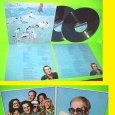 Discos de vinilo: ELTON JOHN / BLUE MOVES 76 - TONIGHT - DOBLE LP / SOLIDA Y COMPLETA 1ª EDIC. ORIG. USA - TODO IMPECA. Lote 35385397