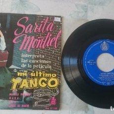 Discos de vinilo: SARITA MONTIEL: MANIQUI PARISIEN + 3 (HISPAVOX 1960). Lote 101421311