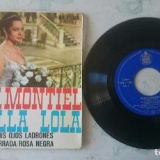 Discos de vinilo: SARITA MONTIEL: AMAPOLA + 3 (HISPAVOX 1962). Lote 101421519