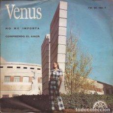 Discos de vinilo: SINGLE- VENUS Y LOS BRANDYS NO ME IMPORTA BERTA 180 SPAIN 1971 PROMO. Lote 101440055