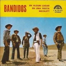 Discos de vinilo: EP- KOKOS 6 BANDIDOS BERTA 223 SPAIN 1972 PROMO. Lote 101442259