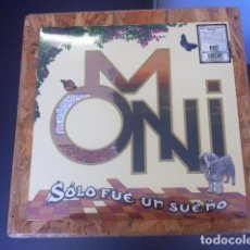 Discos de vinilo: LP OMNI SOLO FUE UN SUELO VINILO PROG ROCK ANDALUZ. Lote 133721919