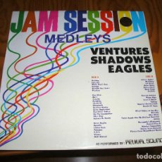 Disques de vinyle: REVIVAL SOUND - JAM SESSION MEDLEYS VENTURES / SHADOWS / EAGLES - WEA 1981 LP..................H. Lote 101453707