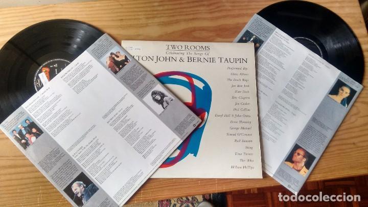 LP (VINILO)-DOBLE- DE HOMENAJE A ELTON JOHN & BERNIE TAUPIN AÑOS 90 (Música - Discos - LP Vinilo - Pop - Rock - New Wave Extranjero de los 80)