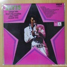 Discos de vinilo: ELVIS PRESLEY - ELVIS SING HITS FROM HIS MOVIES - LP. Lote 101470503